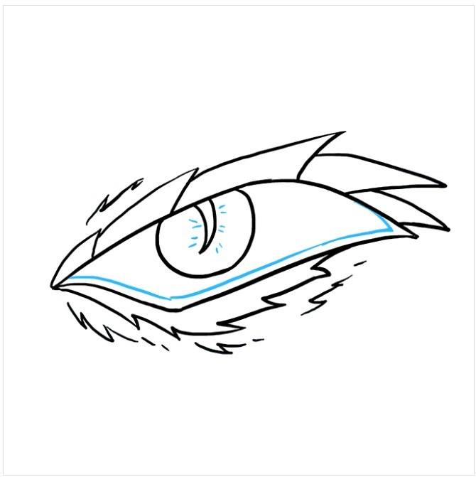 نقاشی چشم اژدها مرحله نهم