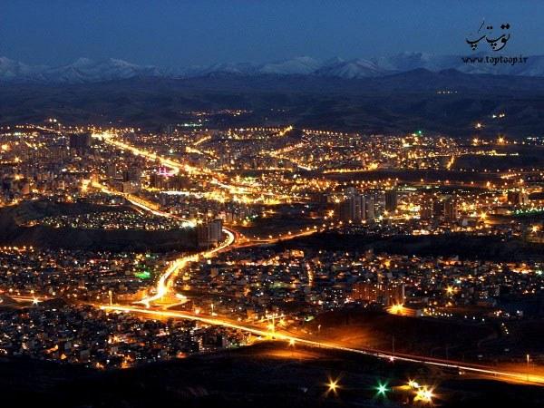 شعر درباره شهر تبریز