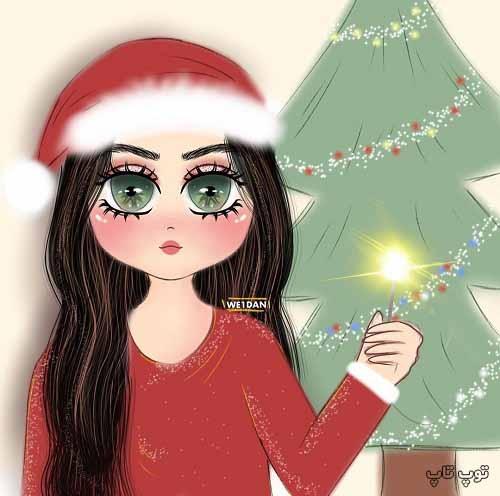 عکس نقاشی دخترونه برای پروفایل