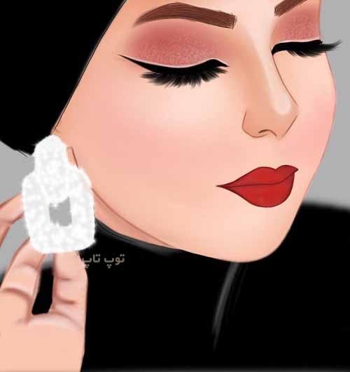 عکس زیباترین نقاشی های دخترونه برای پروفایل