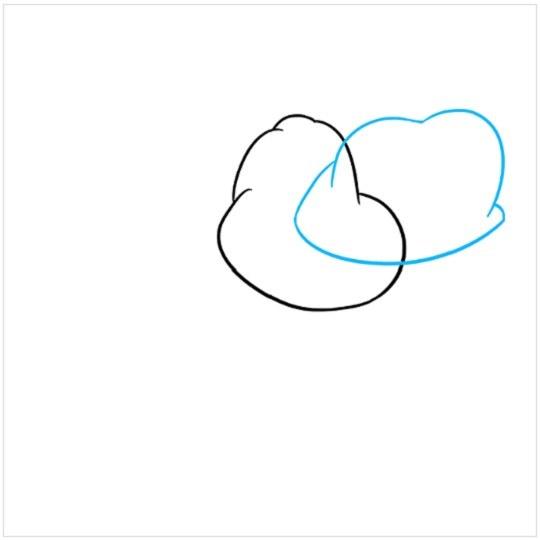 آموزش نقاشی کرگدن مرحله دوم