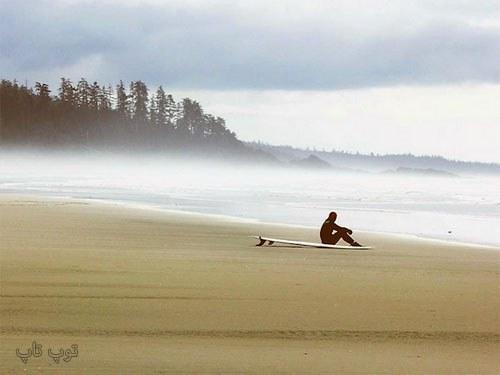 متن عاشقانه برای ساحل دریا