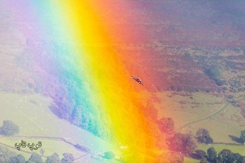 متن های کوتاه و زیبا درباره رنگین کمان