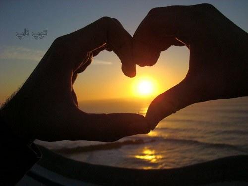 متن عاشقانه کنار ساحل دریا