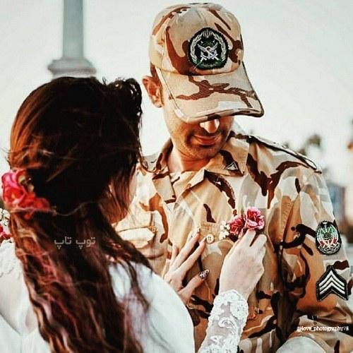 متن عاشقانه سربازي