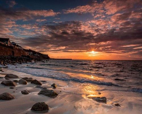 متن در مورد ساحل و دریا