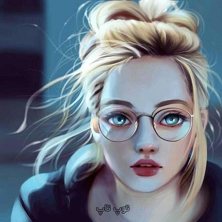 دخترونه عینکی