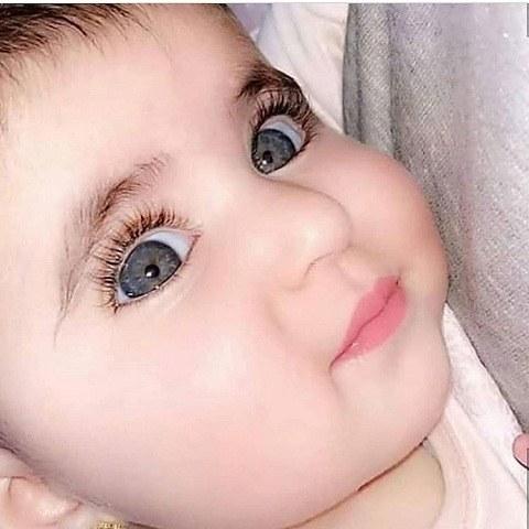 عکس بچه خوشگل پسر کوچولو چشم آبی