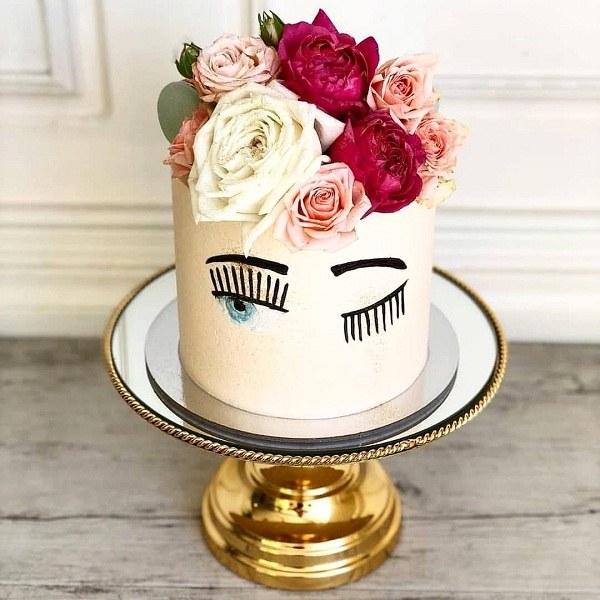 تصاویر کیک تولد دخترانه شیک