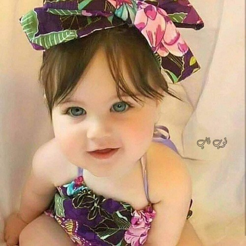 عکس دختر کوچک چشم سبز