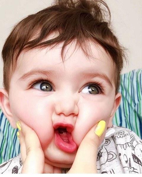 عکس بچه کوچولوی خوشگل