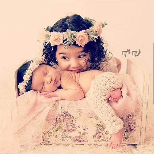عکس دختر کوچک خوشگل بامزه