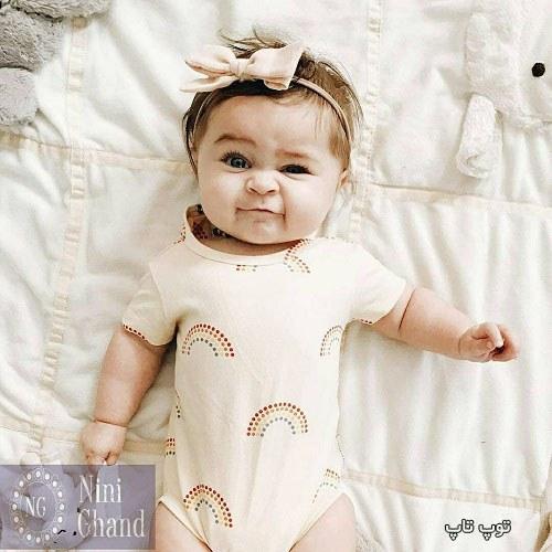 عکس بچه خوشگل دختر شیطون