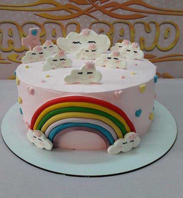 کیک تولد دخترانه 1399 جدید