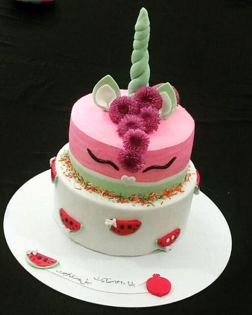 کیک تولدهای دخترانه