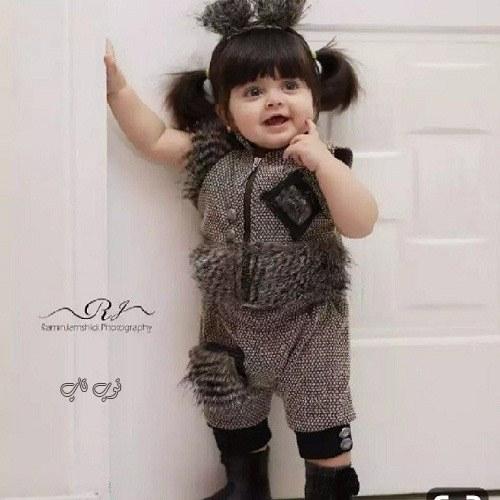 عکس دخترکوچولوی خوشتیپ