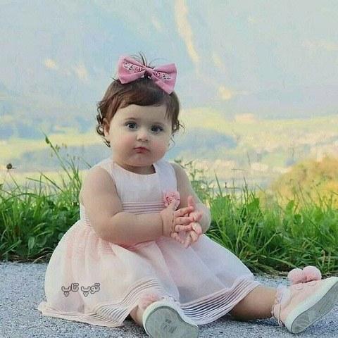 عکس دختر بچه چاقالو و خوشگل