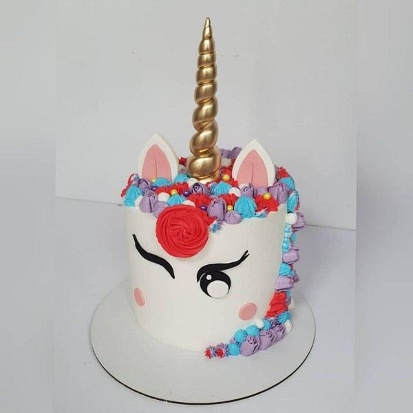 کیک تولد دخترونه یک سالگی