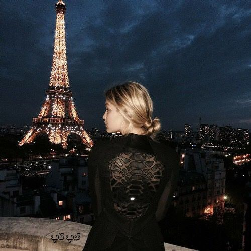 عکس برج ایفل دخترانه