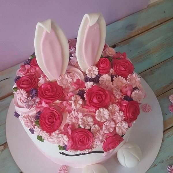 عکس کیک تولد دخترانه 99 جدید