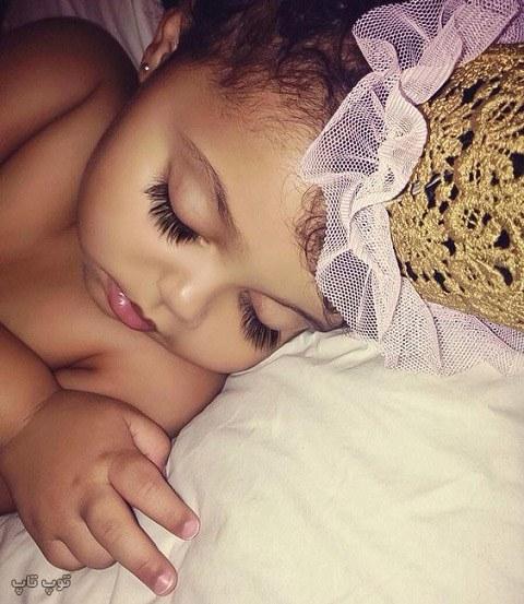 عکس بچه کوچولو خوشگلدختر