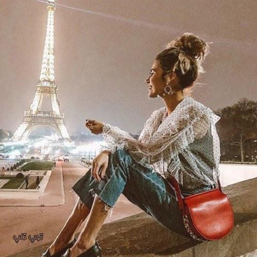 عکس پروفایل دخترانه برج ایفل