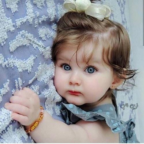عکس دختر بچه ناز چشم رنگی