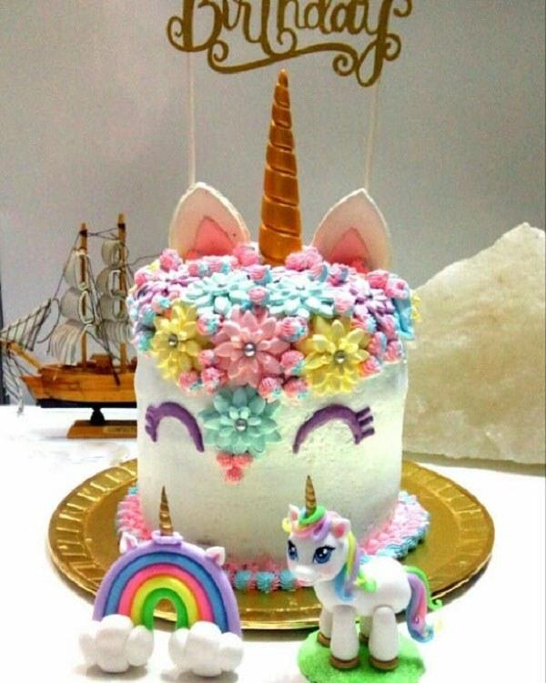کیک تولد دخملونه عکس