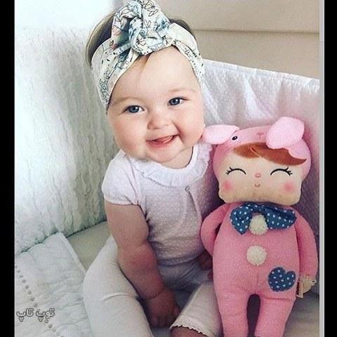 عکس بچه بانمک برای پروفایل