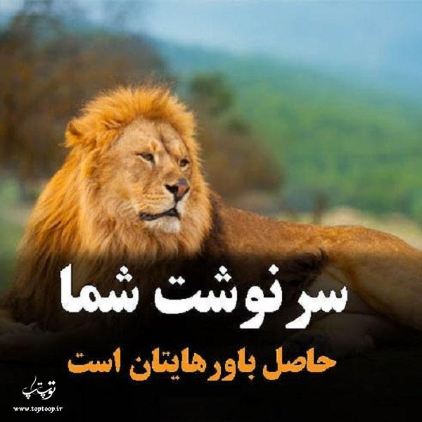 عکس نوشته سرنوشت خوب