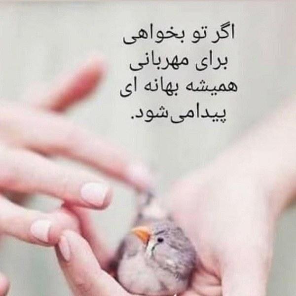 جملات زیبای مهربانی + عکس نوشته