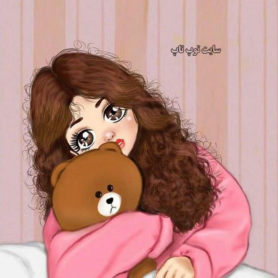 عکس نقاشی دخترونه کارتونی