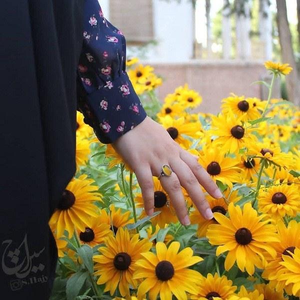 تصاویر جدید دختران چادری