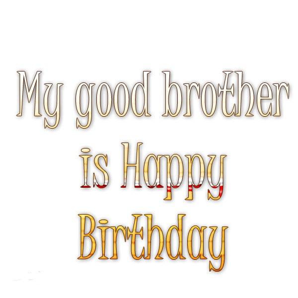 برادرم تولدت مبارک به انگلیسی