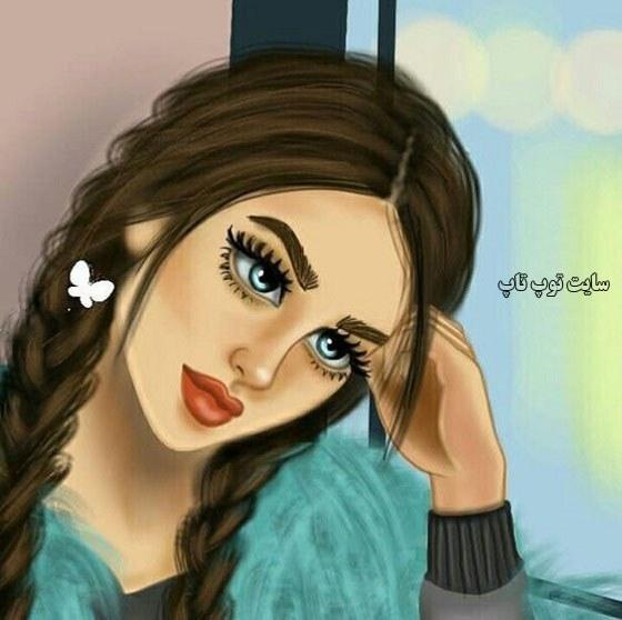 جدیدترین نقاشی های دخترانه ی فانتزی