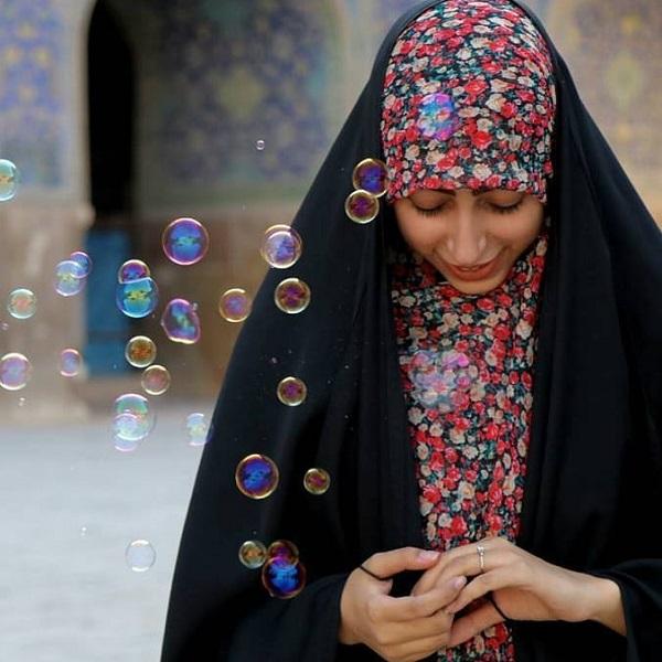 عکس دختر چادری زیبا