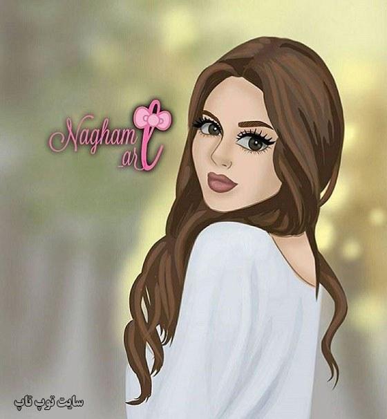 نقاشی دخترونه زیبا
