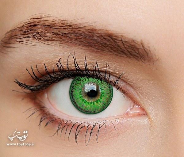تعبیر خواب لنز چشم سبز