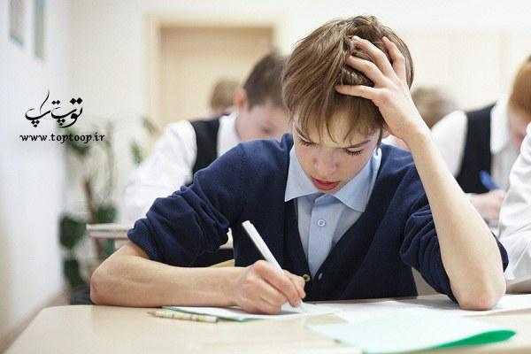 تعبیر خواب نمره بد گرفتن در کلاس ، تعبیر خواب رد شدن در امتحان