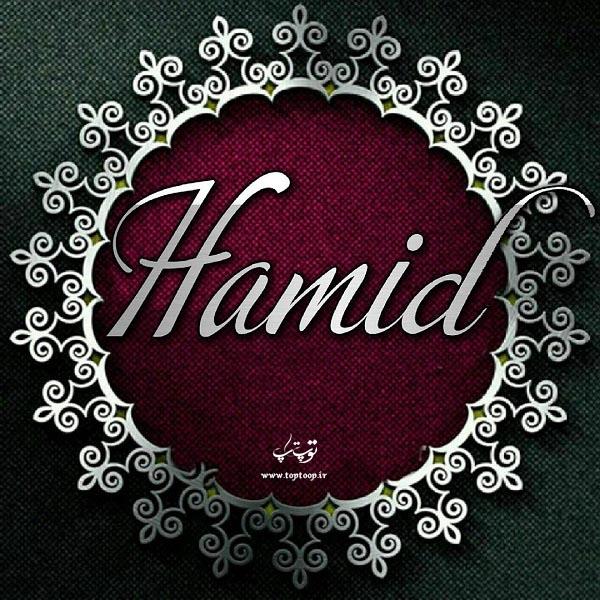 لوگوی انگلیسی اسم حمید