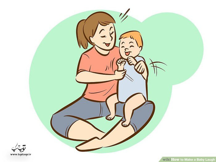 خنداندن بچه