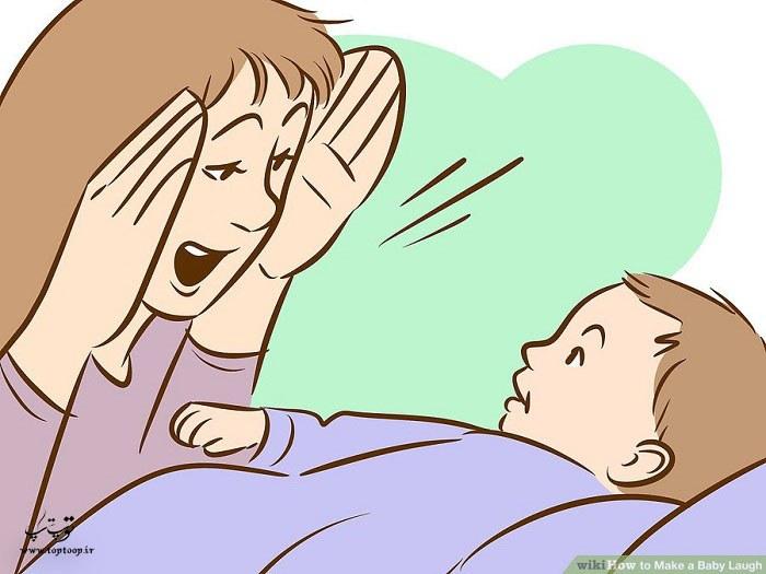 راهکاریی مناسب برای خندیدن بچه