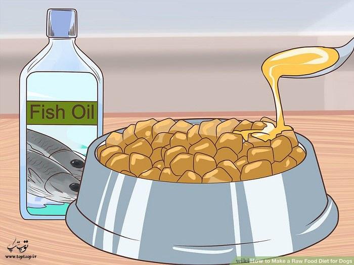 اضافه کردن مواد مغذی به رژیم غذایی خام سگ