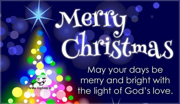 جملات انگلیسی دوستانه برای تبریک کریسمس