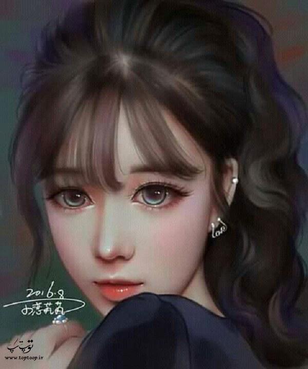 دخترونه نقاشی