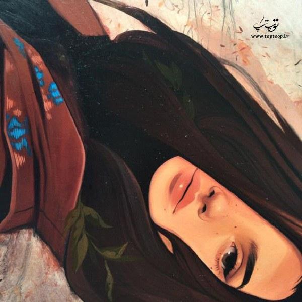 دنیای عکس نقاشی دخترونه 99 جدید