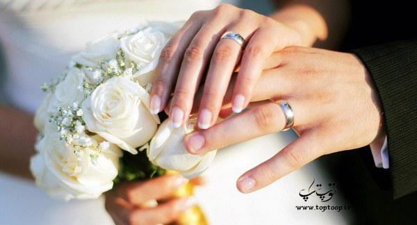متن انگلیسی روی کارت دعوت عروسی با ترجمه