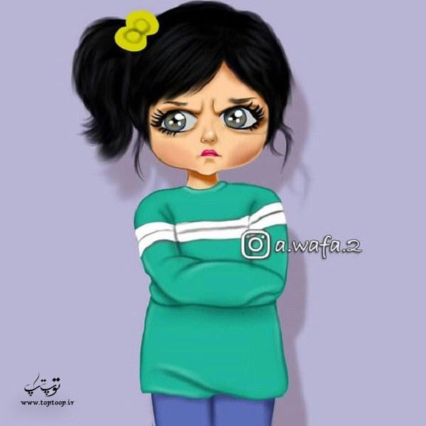 عکس نقاشی دخترانه سال 99