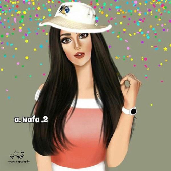نقاشی های دخترانه سایت توپ تاپ در سال 99 و 2020