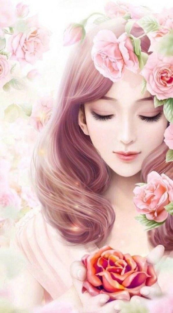 عکس دخترانه نقاشی